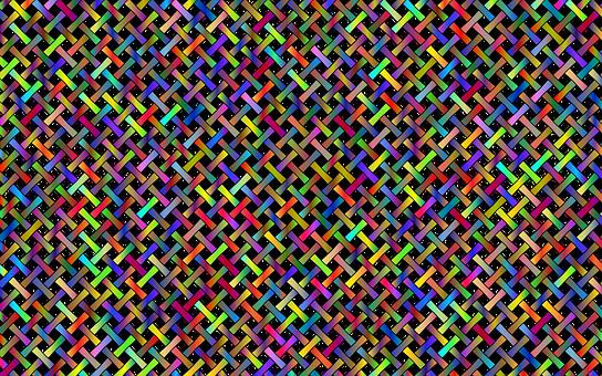 Lattice Pattern, Background, Colorful, Pattern