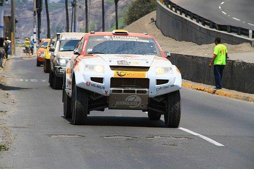 Dakar, Rally, Cars, Peru