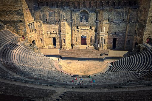 Roman Theatre Of Orange, Theater, Roman Theatre