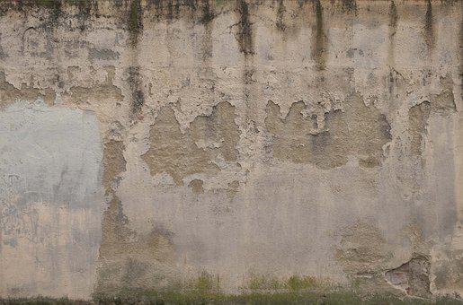 Wall, Texture, Background, Architecture, White, Flock