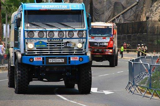 Dakar, Rally, Competition, Truck
