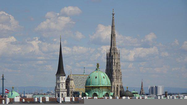 Vienna, St Stephan's Cathedral, St Michael's Church