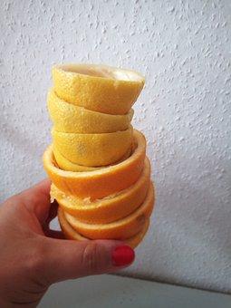 Vitamins, Oranges, Lemons, Healthy, Food, Juice