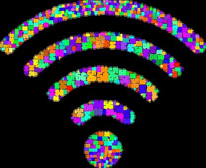 Wifi, Typography, 5g, Wireless, Wi-fi, Communication