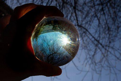 Glass, Ball, Sun, Bol, Winter, Snow, Bubble, Balls