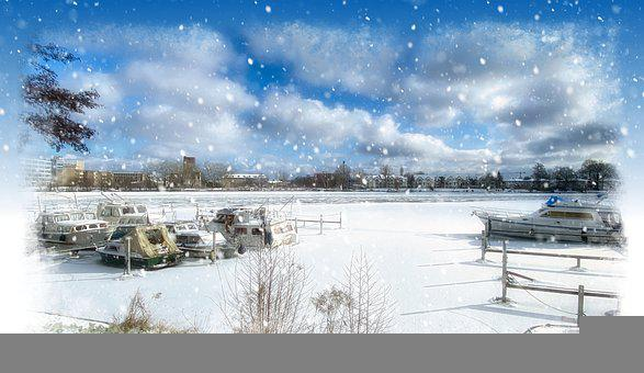 Winter, Ice, Cold, Snow, Gefrohren, Frost, Wintry
