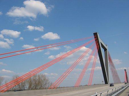 Bridge, Highway, A40, Airport, Airport Bridge