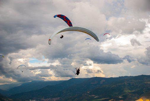 Paragliding, Adventure, Travel, Xtreme, Andes