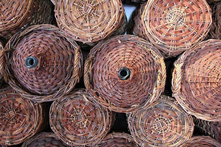 Basket, Baskets, Storage, Store, Pasture, Wicker Basket