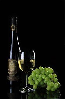 Bottle, Still Life, Wine, White Wine, Glass, Wine Glass