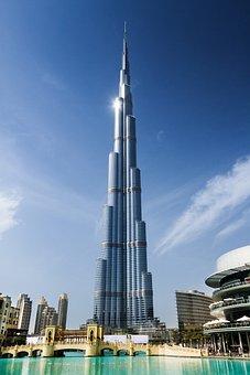 Dubai, Tower, Arab, Khalifa, Burj, Emirates, City