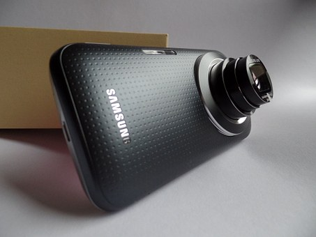 Camera Phone, Samsung, Lens, Black, Smartphone, Android