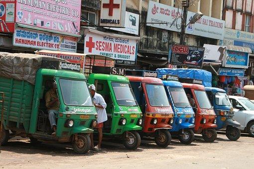 Tuk Tuk, Cars, India, Automobiles, Automobile, Motor