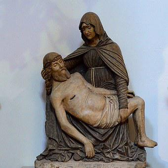 Italy, Sculpture, Virgin, Christ, Pouilles, Pieta