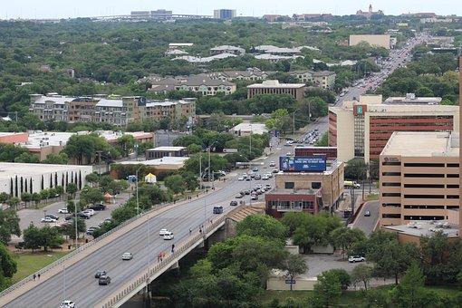Austin, Congress Avenue, Downtown