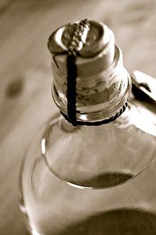 Bottle, Cork, Seal, Closure, Brandy, Wine, Liqueur