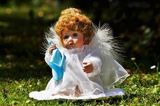 Angel, Little Angel, Sad, Doll, Toys, Cute, Wing