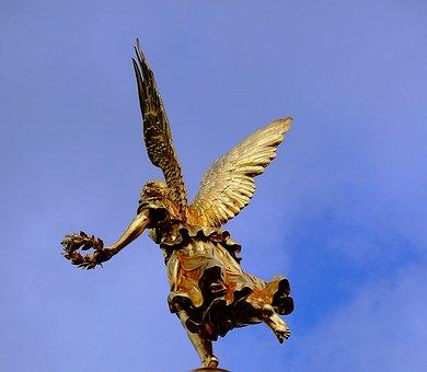 Angel, Christmas Angel, Pray, Cherub, Decoration