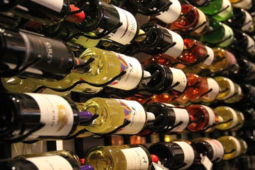 Wine, Display, Bottles, Winery, Red, White, Alcohol