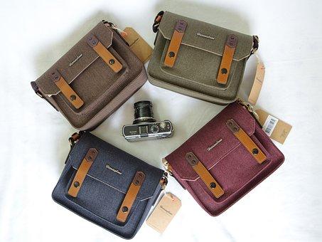 Bag, Camera, Papas Pocket, Postman, Fashion, Male