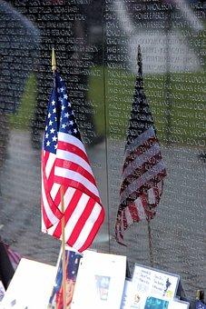 Flag, Memorial Day, American Flag, Military, Honor