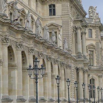 Paris, Louvre, Palace, France, Architecture, Historical