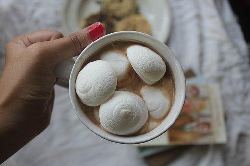 Marshmallow, Chocolate, Instagram, Gray Chocolate