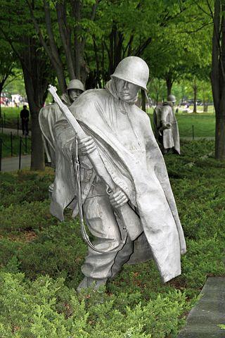 Korea War, Memorial, Washington Dc, Remembrance