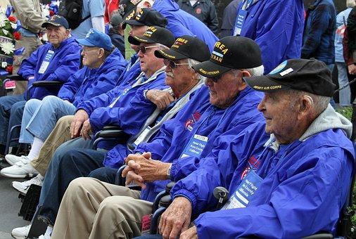 Veterans, Korea War, Memorial, Washington Dc
