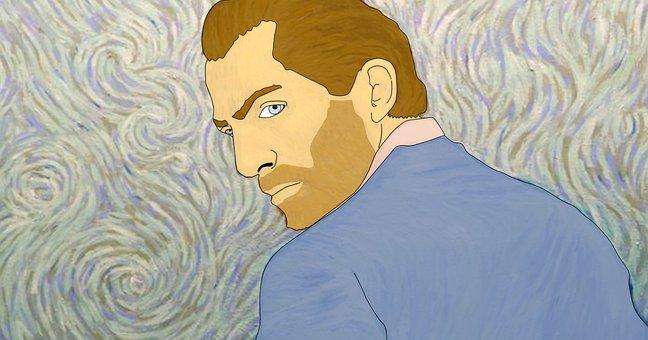 Van Gogh, Artist, Man, Illustration