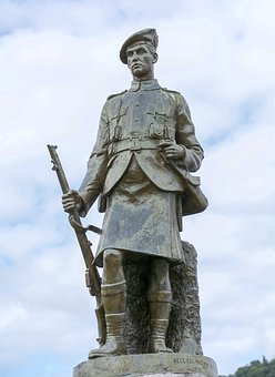 Statue, Memorial, World War 1, War, Monument, Inveraray