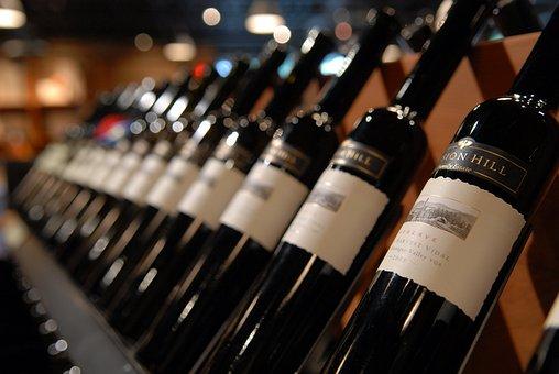 Wine, Okanagan, Mission Hill, Bottles