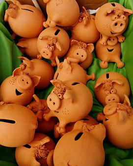 Gift, Pig, Funny, Fun, Souvenir, Money Box