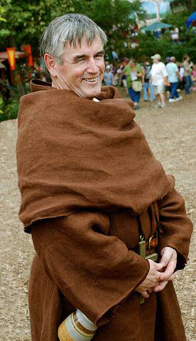 Monk, Costume, Medieval, Religion, Catholicism