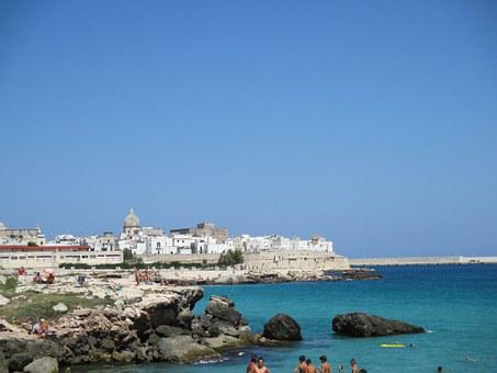 Puglia, Sea, Landscape, Holiday, Italy, Monopoli