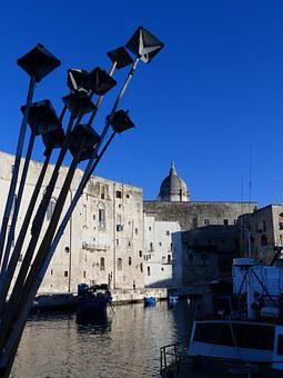 Port, Puglia, Monopoli, Italy