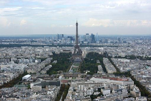 Eiffel Tower, Paris, Montparnasse, France