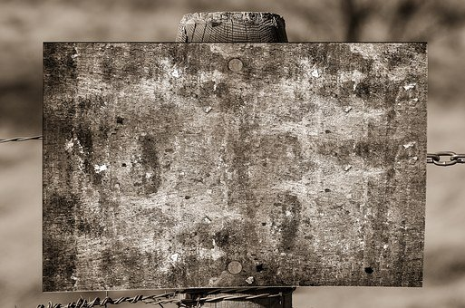 Shield, Board, Empty, Old, Dirt, Dirty, Sepia