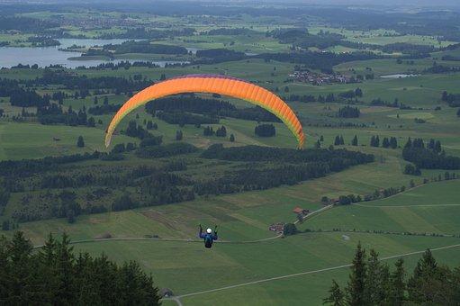 Paraglider Springer, Paraglider, Springer, Fly, Mat