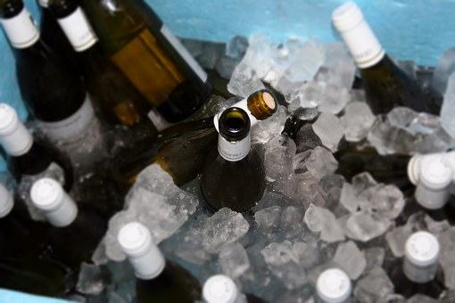 Wine, Bottles, Sects, Ice, Celebration, Party, Tasting