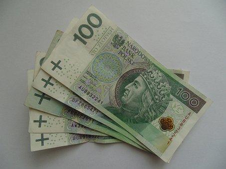 Banknotes, Money, Polish, Poland, Cash, Pln, Bill, 100