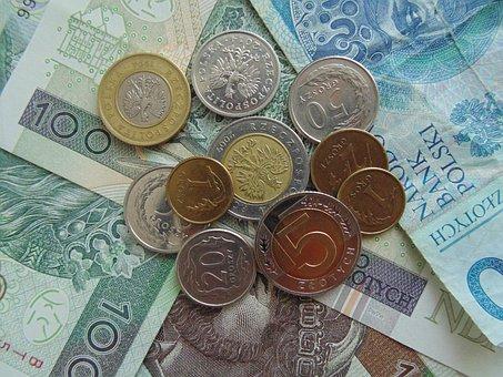 Money, Polish, Banknote, Zloty, Coins, Pln