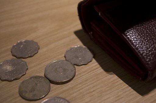 Coin, Money, Small Change, Hk, Purse