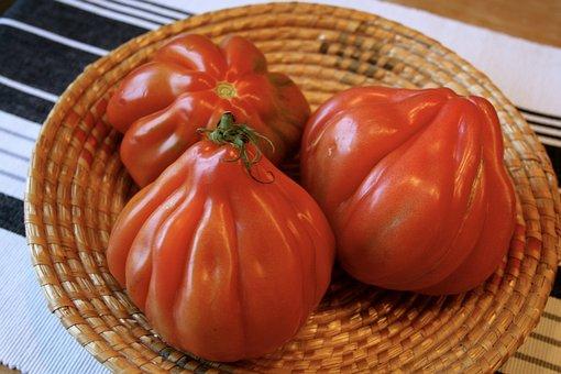 Tomatoes, Vegetables, Red, Coeur De Boeuf