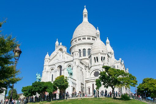 Sacré Coeur, Paris, France, Church, Chapel