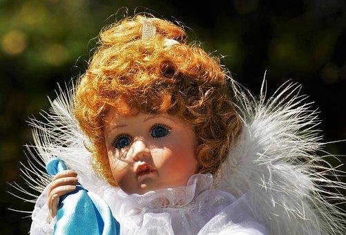 Angel, Little Angel, Sad, Doll, Toys, Cute, Wing, Fig