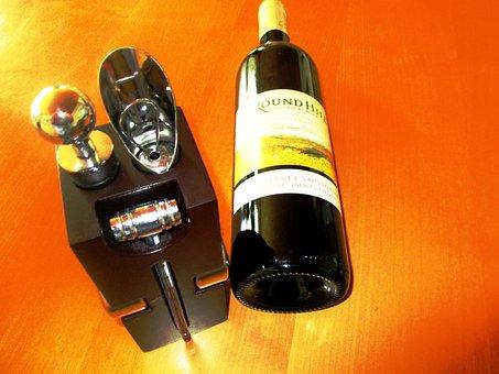 Wine, Sommelier Set, Wood Block, Set 6teilig, Acessoir