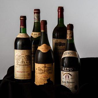 Red Wine, Bottle, Dust, Old, Alcohol, Beverage, Wine