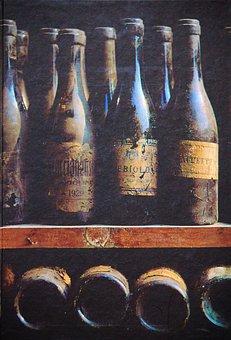Wine Bottles, Wine Bottle Range, Bottles, Shelf