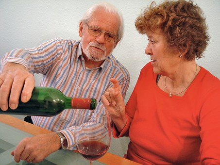Wine, Drink, Wine Glass, Give A, Wine Bottle, Red Wine